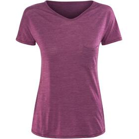 Devold Herdal - T-shirt manches courtes Femme - rose/rouge